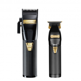 BaBylissPRO BlackFX Clipper & SkeletonFX Trimmer Pack