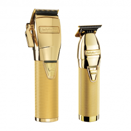 BabylissPRO GoldFX Clipper & SkeletonFX Trimmer Pack