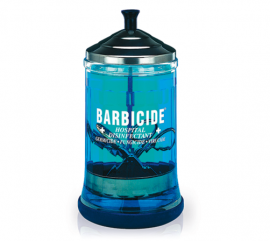 barbicide glasburk, barbicide jar