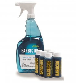 Barbicide Disinfectant Surface Spray + refill 6x60 ml concentrate, Barbicide, Barbicide Refill