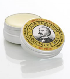 Captain Fawcett BIG PEAT Islay Malt Whisky Moustache Wax 15ml
