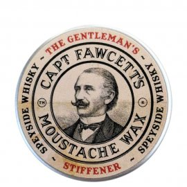 Captain Fawcett Gentleman's Stiffener Malt Whisky Moustache Wax 15ml