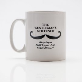 Captain Fawcett Moustache Wax Mug