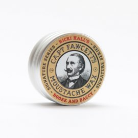 Captain Fawcett Moustache Wax Ricki Hall's Booze & Baccy 15ml
