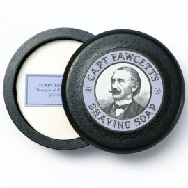Captain Fawcett Shaving Soap with Bowl 100g