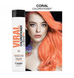 Celeb Luxury Viral Hybrid Colorditioner Pastel Coral 244ml