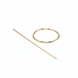 Everneed Matilde Cirkel Hairpin Gold