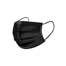 Face Mask Black 10 st