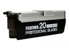 Feather Professional Straight Razor Blades