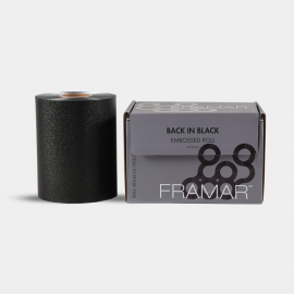 Framar Back In Black Embossed Foil Medium