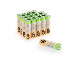 GP Super Alkaline AA Batteri (LR6) 20-Pack