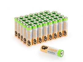 GP Super Alkaline AA Batteri (LR6) 40-Pack