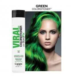 Celeb Luxury Viral Hybrid Colorditioner Green 244ml