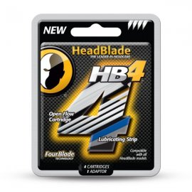 HeadBlade HB4 Blades 4-pack