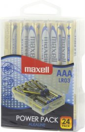 Maxell Power Pack Alkaline AAA batterier (LR03) 24-pack