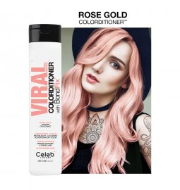Celeb Luxury Viral Hybrid Colorditioner Pastel Rose Gold 244ml