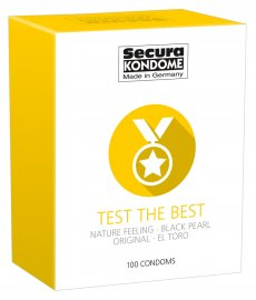 Secura Kondome Test The Best 100-Pack