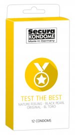 Secura Kondome Test The Best 12-Pack