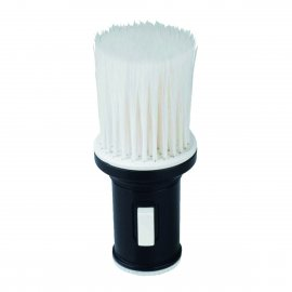 Sibel Neck Brush Talc Black