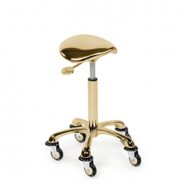 Sibel Saddle Chair Gold