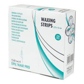 Sibel Wax Strips Facial hair 12x3,75cm (250st)