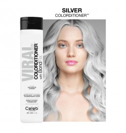 Celeb Luxury Viral Hybrid Colorditioner Pastel Silver 244ml