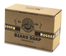 The Bearded Chap Original Beard Soap Rugged