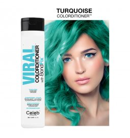 Celeb Luxury Viral Hybrid Colorditioner Pastel Turquoise 244ml