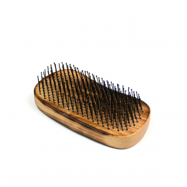 Wet Brush Palm Brush Detangler Burnt Wood