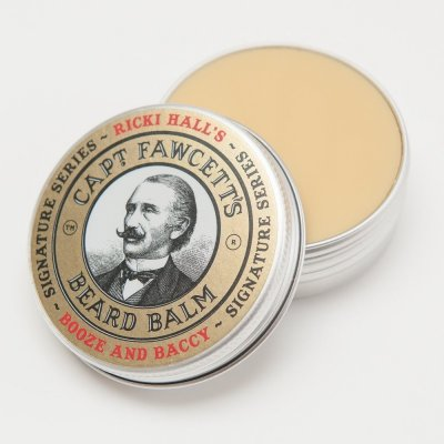 Captain Fawcett Beard Balm Ricki Hall's Booze & Baccy 60ml