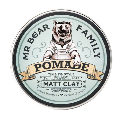 Mr Bear Family Pomade Matt Clay 100ml