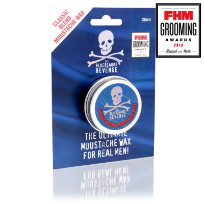 The Bluebeards Revenge Moustache Wax Classic Blend 20ml
